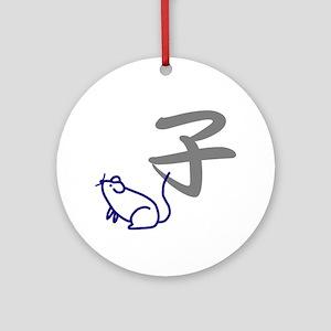 [J-ITEM.COM] Mouse Ornament (Round)